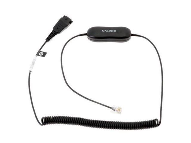 JBR8801199 - Jabra Coiled Direct Connect Smart Cord for Headsets -  Newegg com