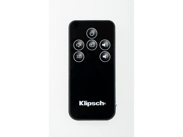 klipsch oem remote control  klipsch   icon sb  sb  speakers   neweggcom