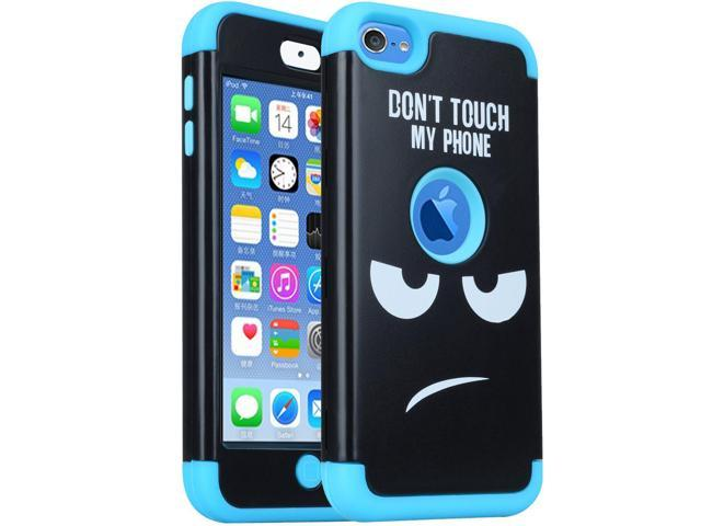 first rate 205df 5a272 iPod Touch 6th Generation Case, iPod Touch 5 Case,SAVYOU 3 in 1 Combo  Hybrid Impact Resistant Shockproof Case Cover Protective for Apple iPod ...