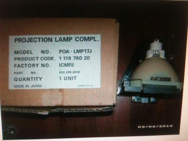 Sylvania Projector Lamp CYC-CYM 300 Watt 120-125 Volt Average Life 25 Hours.