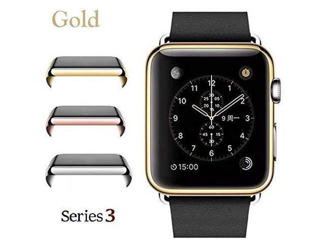 detailed pictures 9ea63 ea6fa Josi Minea iWatch 3 [42mm] Protective Snap-On Case with Built-in Clear  Screen Protector - Anti-Scratch & Shockproof Thin HD Shield Cover Guard ...