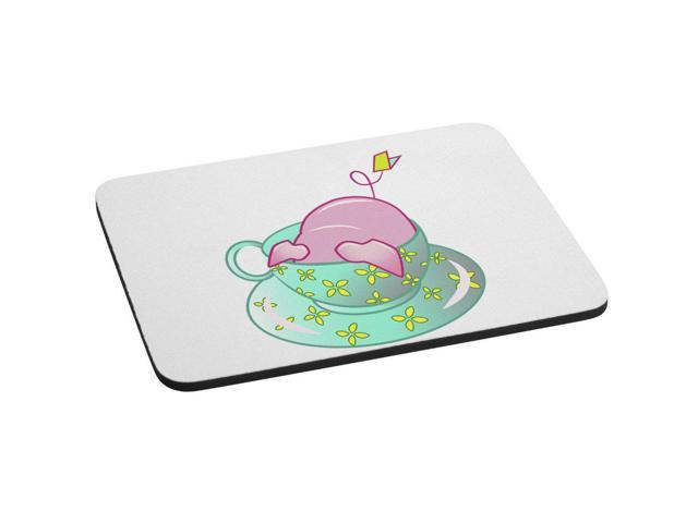 Teacup Pig In A Blue Teacup Cute And Adorable FRIDGE MAGNET