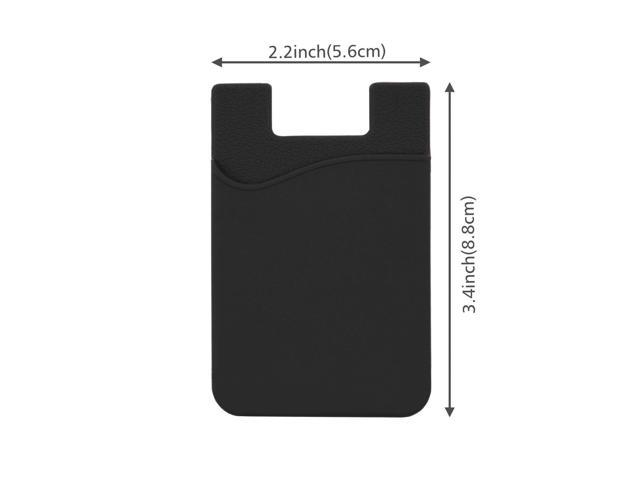 /Always Carry Your Essential Cards with your phone Silicone Material Will Keep Its Shape Cards will not fall out 3/M Sticker by Safe Flight /Can be attached to almost any phone/ Credit Card//ID Card Holder/