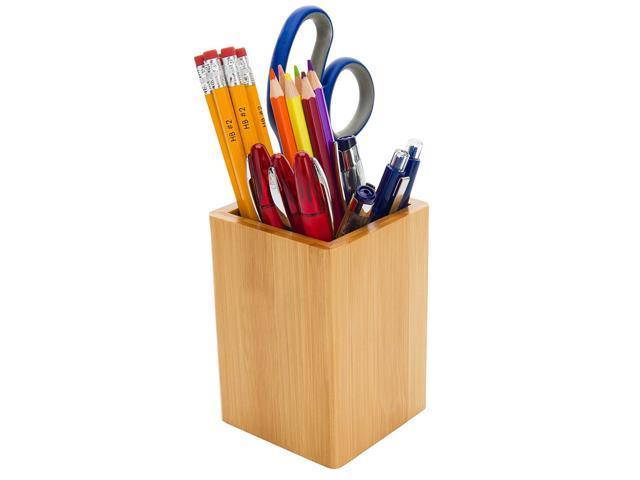 Single Pen Stand Creative Desktop Mini Pencil Holder Base for Office School