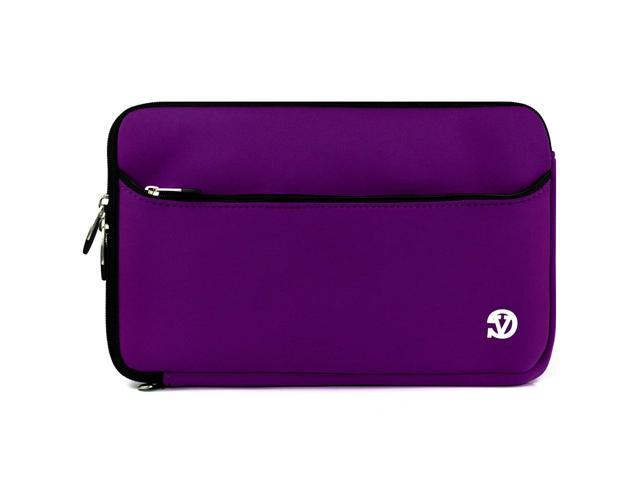 VanGoddy Wide Neoprene Sleeve Kocaso 10.1 inch Android & Windows Tablets (Purple Plum)