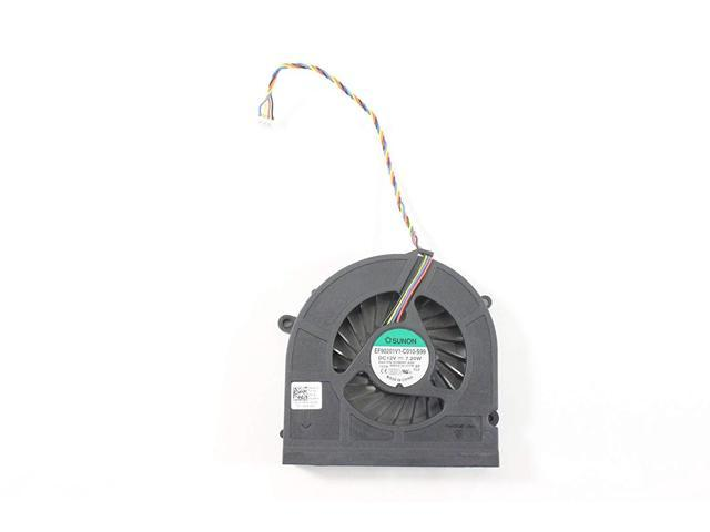 New CPU Fan GPU Cooling Fan VGA Replacement for ASUS G751 G751J G751M G751JT G751JY G751JM DFS561405PL0T DFS501105PR0T 2 Different Fan for G751 CPU GPU Fan, Ours Voltage is 5V, The thinner one!