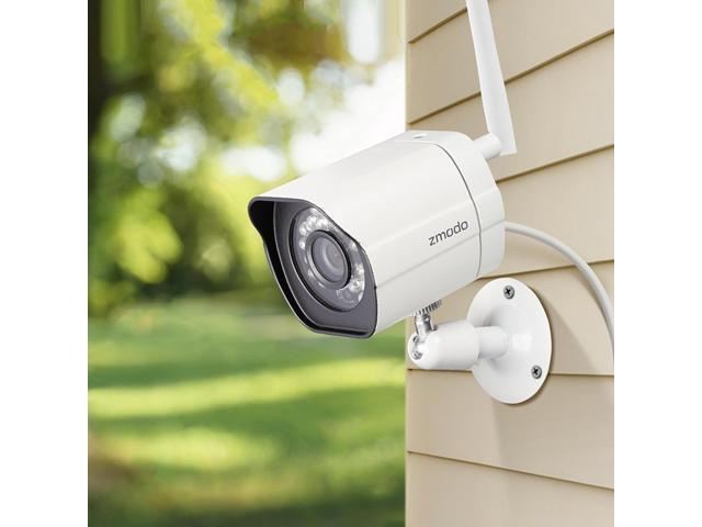 Zmodo 2 1280*720p HD IP Network Wireless Outdoor Home Security Camera  System - Newegg com