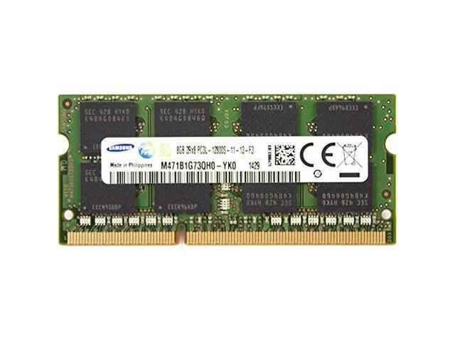 Samsung Ddr3l 1600 Sodimm 8gb 1gx64 Cl11 Samsung Chip Notebook Memory M471b1g73qh0 Yk000 Newegg Com