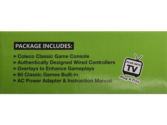 Refurbished: ColecoVision AtGames Flashback Classic Game Console -  Newegg com