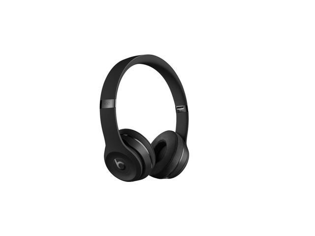 Beats Solo3 Wireless On-Ear Headphones MP582LL/A - Black - Newegg com