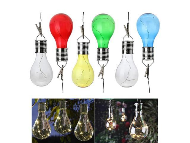 Solar Lamp Powered Portable Led Bulb Light Solar Energy Lamp Led Lighting  Solar Panel Outdoor Garden Night Ligh Festival Decor - Newegg com