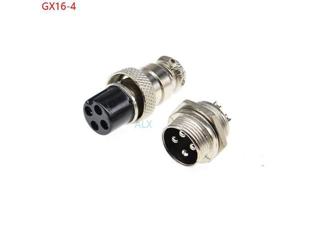 Gx16 7Pin 16mm Screw Type Socket Connector Aviation Plug Female and Male GX16-7