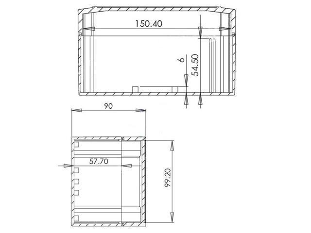DIY NEW Waterproof Plastic box electronic project Enclosure 160x110x90mm L*W*H
