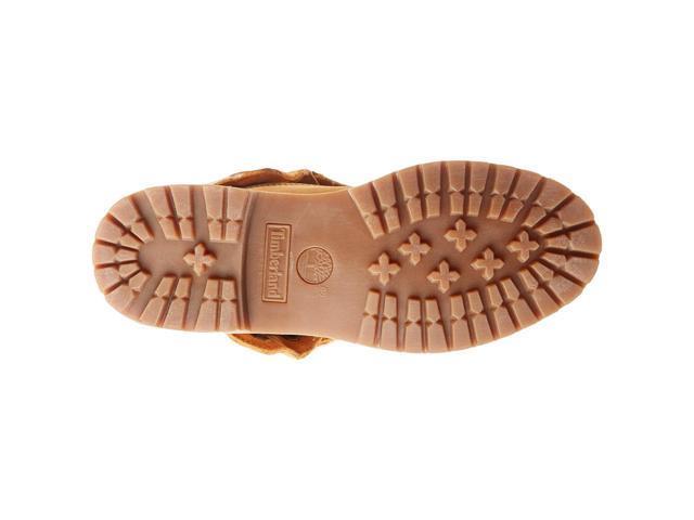 Timberland Women Boots Teddy Fleece Fold Down Waterproof Boot Tb tb08329r