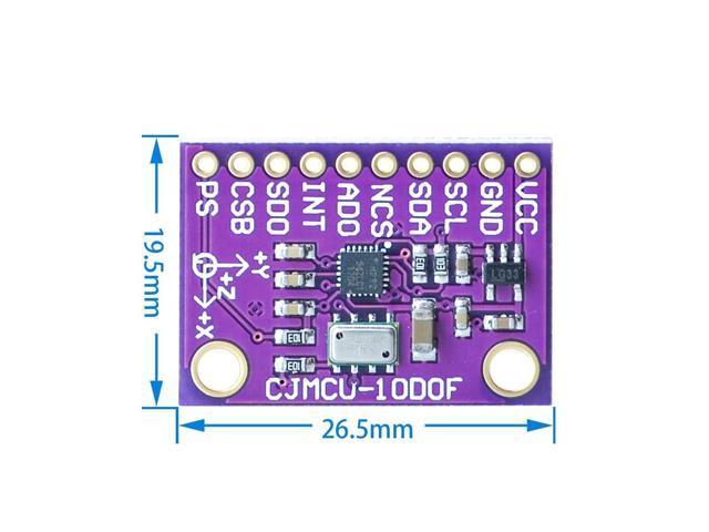 CJMCU-117 MPU-9250+MS5611 High Precision 9-Axis 10DOF Altitude Module SPI//IIC