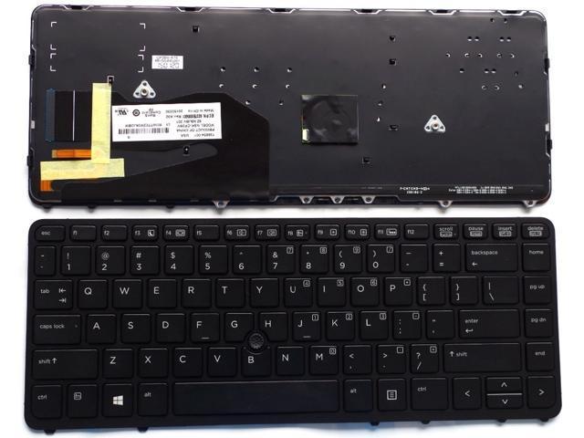NEW backlit Keyboard For HP EliteBook 840 G1 850 G1 731179-001 736654-001 US