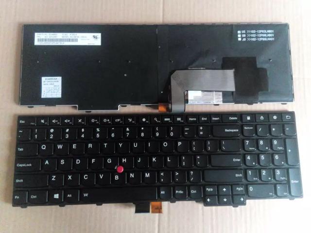 New US Black Backlit Keyboard For Lenovo Thinkpad T540 T540P T550 T560 P50s  W540 E531 E540 Series - Newegg com