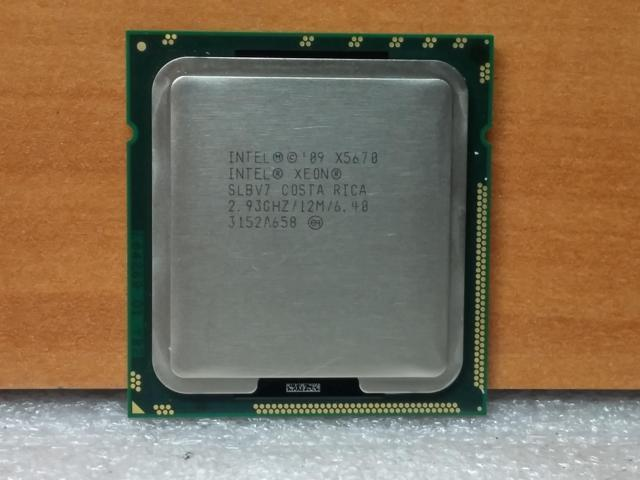 Intel Xeon X5670 2 93GHz LGA 1366/Socket B 3200MHz CPU SLBV7 - Newegg com