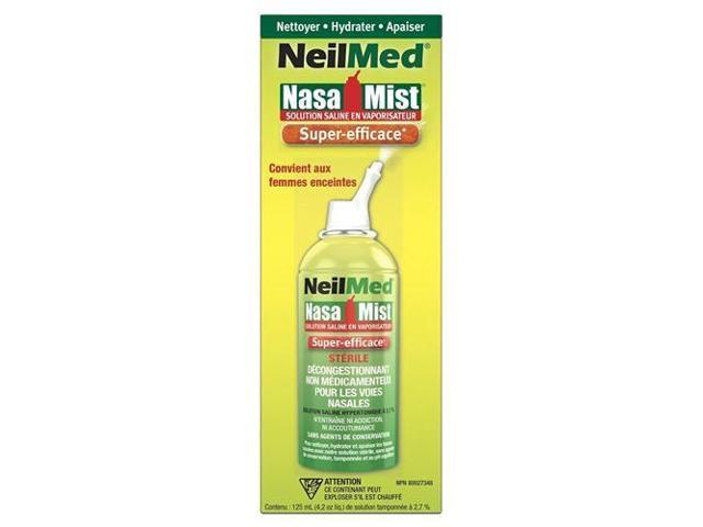 NeilMed, NasaMist Saline Nasal Spray, 4 2oz - Newegg com