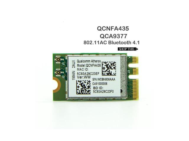 Wireless Adapter Card for Qualcomm Atheros QCA9377 QCNFA435 802 11AC  2 4G/5G NGFF WIFI CARD Bluetooth 4 1 - Newegg com