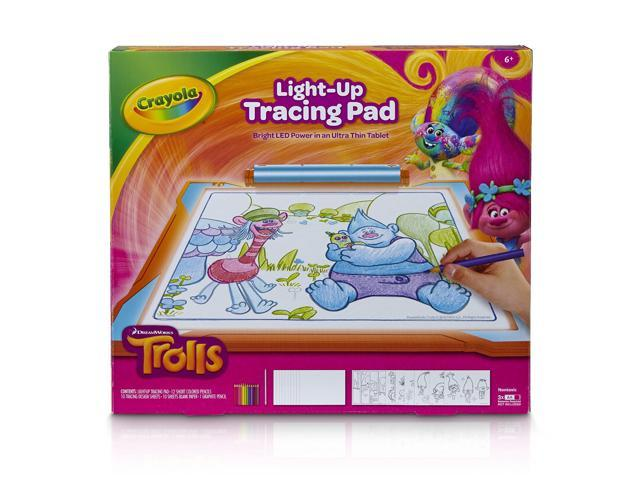 Crayola; Light-up Tracing Pad; Blue; Art Tool; Bright LEDs; Easy Tracing with...