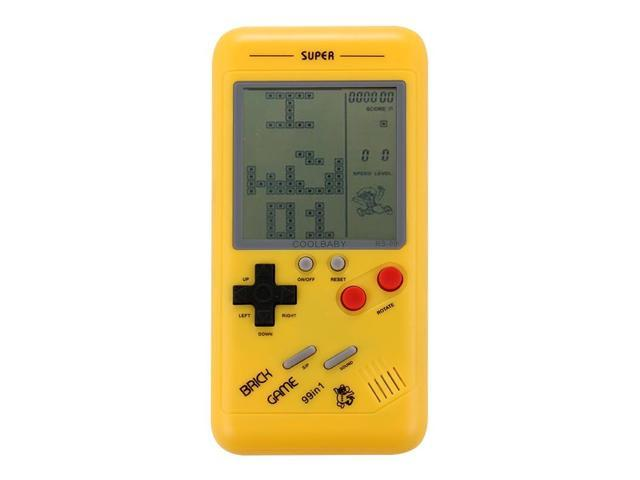 RS-99 Retro Tetris Classic Handheld Game Console, 3 5 inch Screen, Built-in  26 Kinds Games(Yellow) - Newegg com