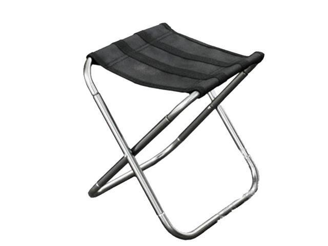 Awesome Outdoor Portable Folding Stool Size 25 22 26Cm Silver Newegg Com Uwap Interior Chair Design Uwaporg