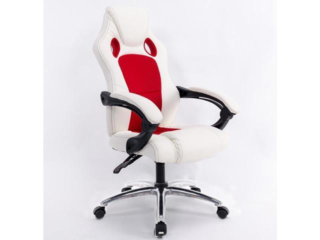 Pleasing 0653 Computer Office Chair Home Gaming Chair Rotating Lifted Lounge Chair With Aluminum Alloy Feet Red Newegg Com Andrewgaddart Wooden Chair Designs For Living Room Andrewgaddartcom