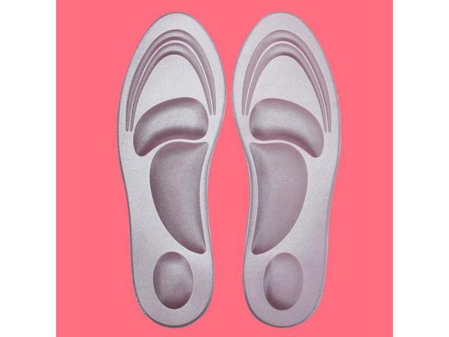 4D Runing Sponge Soft Insole High Heel Shoe Pad Pain Relief Insert Cushion Pad