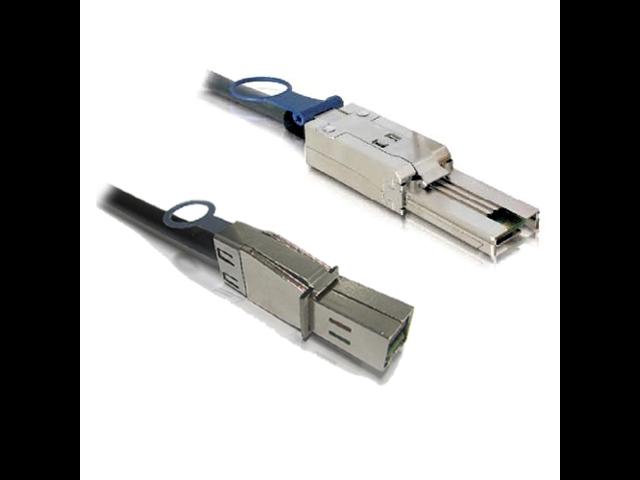 External Mini SAS HD SFF-8644 to 4 X SATA Cable 1 Meter