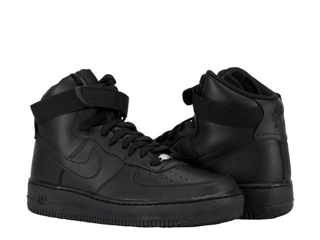 Nike Air Force 1 High '07 Black/Black/Black Men's Basketball Shoes  315121-032 Size 10.5