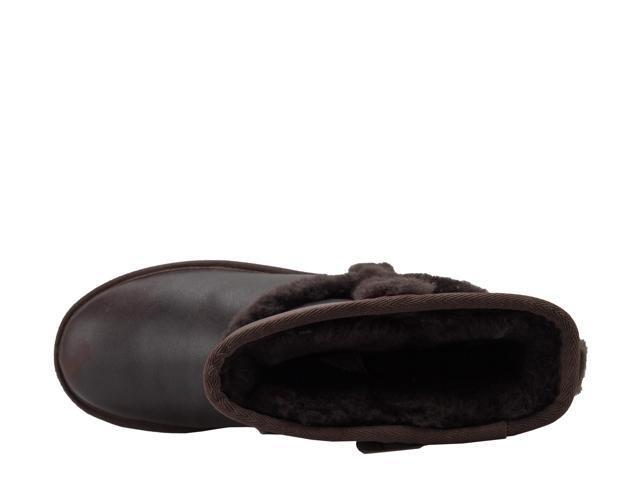 f8ccdce668e UGG Australia Carter Leather Chocolate Women's Boots 1008825-CHO Size 5 -  Newegg.com