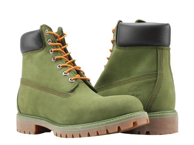 fdee5720548 Timberland 6-Inch Premium Waterproof Pesto Green Gatorade Men's Boots A1M72  Size 7.5M - Newegg.com