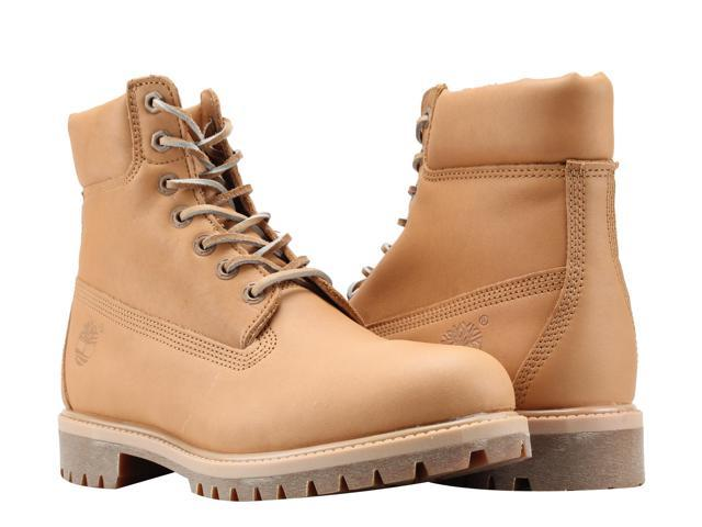 Timberland 6 Inch Premium Waterproof Natural Horween Limited Men's Boots A1JJB Size 11.5M