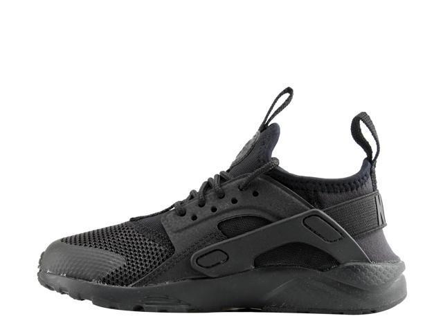 Details about Nike Air Huarache Run Ultra (PS) Black Litte Kids Running Shoes 859593 004
