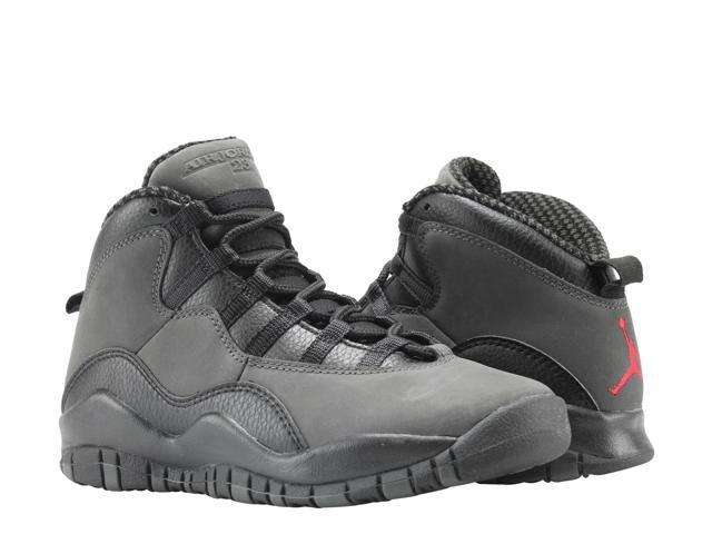 pretty nice aa110 2f0fd Nike Air Jordan 10 Retro BG Dark Shadow Big Kids Basketball Shoes  310806-002 Size 5 - Newegg.com