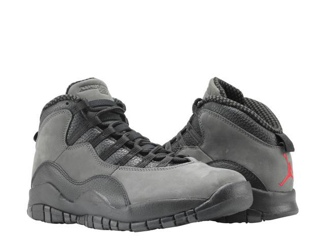 separation shoes d4836 99949 Nike Air Jordan 10 Retro Dark Shadow/Red-Blk Men's Basketball Shoes  310805-002 Size 11.5 - Newegg.com
