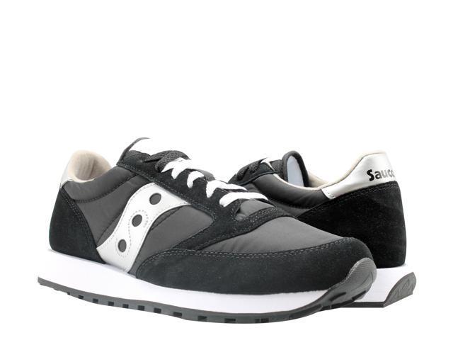 big sale d278c e35ce Saucony Jazz Original Black/Silver Men's Running Shoes 2044-1 Size 12 -  Newegg.com