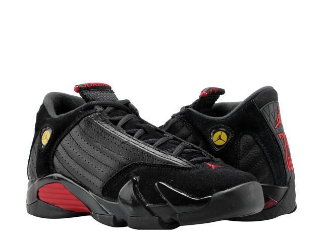 sale retailer 61457 ce2c1 Nike Air Jordan 14 Retro Black/Red-Black Big Kids Basketball Shoes  487524-003 Size 5 - Newegg.com