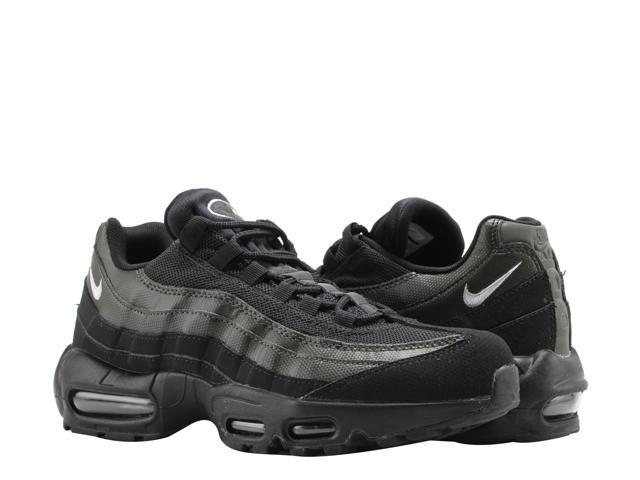 Nike Air Max 95 Essential Black White Sequoia Men S Running Shoes