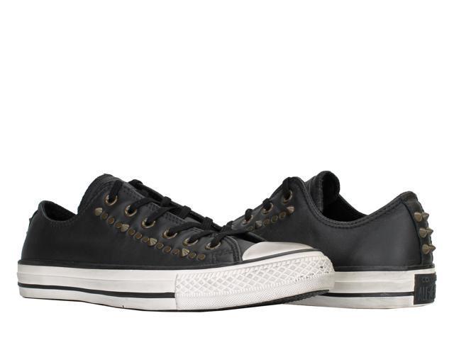 9d26ffb7f4ffe Converse Chuck Taylor All Star Black Studded OX Low Top Sneakers 140012C  Size 10 - Newegg.com