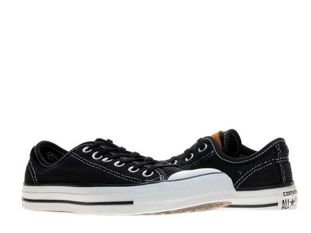 e6bb368266baa Converse Chuck Taylor All Star OX Woven Black Low Top Sneakers 147087F Size  4 - Newegg.com