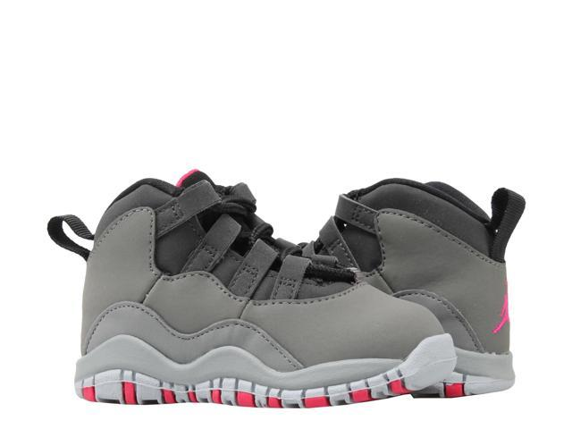 new concept 63289 1ac62 Nike Air Jordan 10 Retro (TD) Dark Shadow Grey Toddler Basketball Shoes  705416-006 Size 7