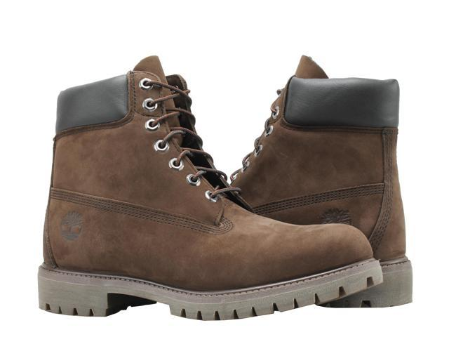 "Details about Men's Timberland 6"" 6 inch Premium Waterproof Boots Dark Chocolate Size 10 M"