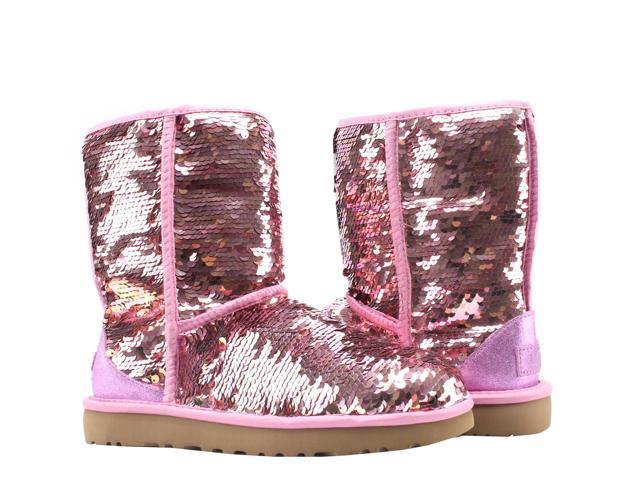ef77c058e2c UGG Australia Classic Short Sequin Pink Women's Winter Boots 1094982-PINK  Size 6 - Newegg.com