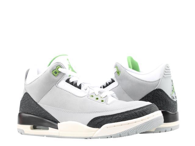 de66845f Nike Air Jordan 3 Retro Chlorophyll Men's Basketball Shoes 136064-006 Size  8.5