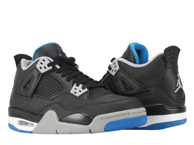 best sneakers 3fc75 d3e8a Nike Air Jordan 4 Retro BG Motorsports Big Kids Basketball Shoes 408452-006  Size 5 - Newegg.com