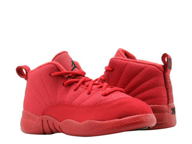 7f12f44ca19d7 Nike Air Jordan 12 Retro Gym Red (TD) Little Kids Basketball Shoes  850000-601 Size 6 - Newegg.com