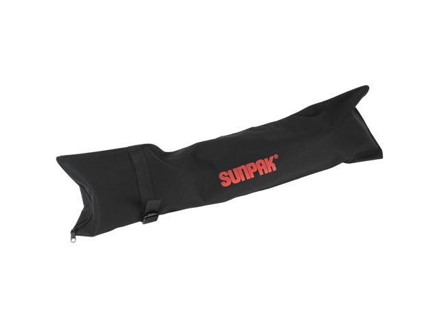 "Case /& Kit Sunpak 61/"" 61 Inch 6000PG Aluminum Tripod w// Pistol Grip Ball Head"