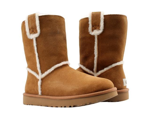 91e433dedce UGG Australia Classic Short Spill Seam Chestnut Women's Boots 1098078-CHE  Size 8 - Newegg.com